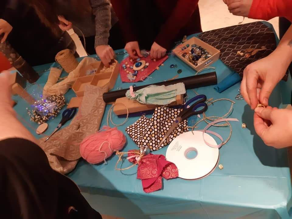 Educators of Bright Eyes Academy engage in a custom workshop at the Learning Centre